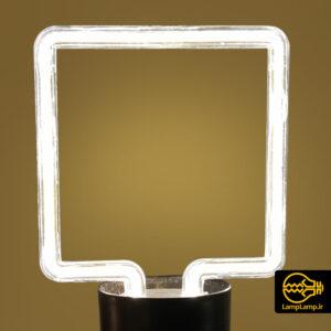 لامپ نئونی خطی ال ای دی ۸ وات مدل مربع