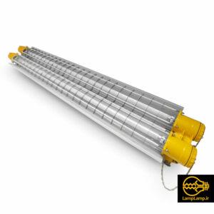 چراغ مهتابی ضد انفجار سقفی ۲ در ۳۶ وات واروم