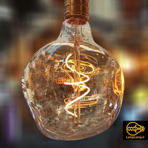لامپ ادیسونی حبابی فیلامنت پیچی پایه E27
