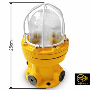 چراغ تونلی ضد انفجار مدل BDD81 برند واروم