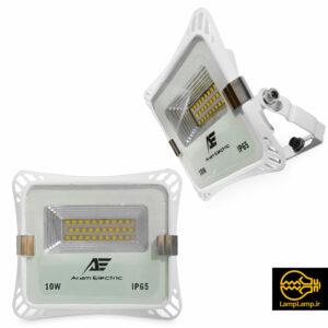 پروژکتور ۱۰ وات ال ای دی مدل A06-XS010 آرام الکتریک