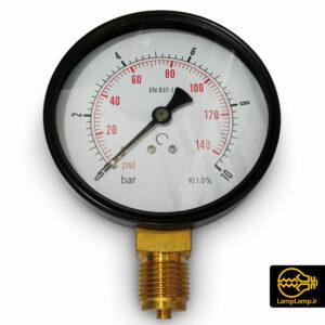 گیج فشار سنج ۱۰ بار صفحه ۱۰ خشک