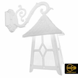 چراغ دیواری حیاط فلزی ضد باران مدل شونیز