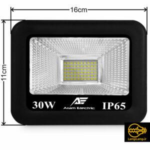 پروژکتور ۳۰ وات اس ام دی مدل AEF05-30 آرام الکتریک