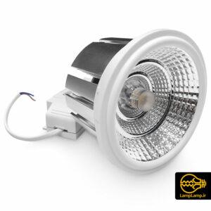 لامپ هالوژن توکار ۲۵ وات مدل AR111 اکووات