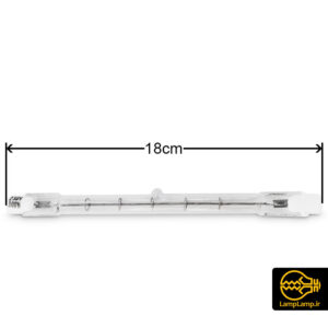 لامپ مدادی هالوژنی ۳۰۰ وات پایه R7S