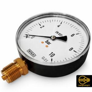 گیج فشار سنج (مانومتر) ۱۰ بار ویکا مدل EN 837-1