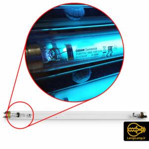 لامپ یو وی سی ضدعفونی ۱۵ وات اسرام روسیه