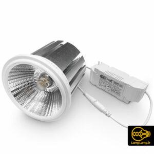 چراغ سیلندری سقفی ۳۵ وات AR111 اکووات