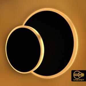 چراغ دیواری دایره ای قابل چرخش دکوراتیو